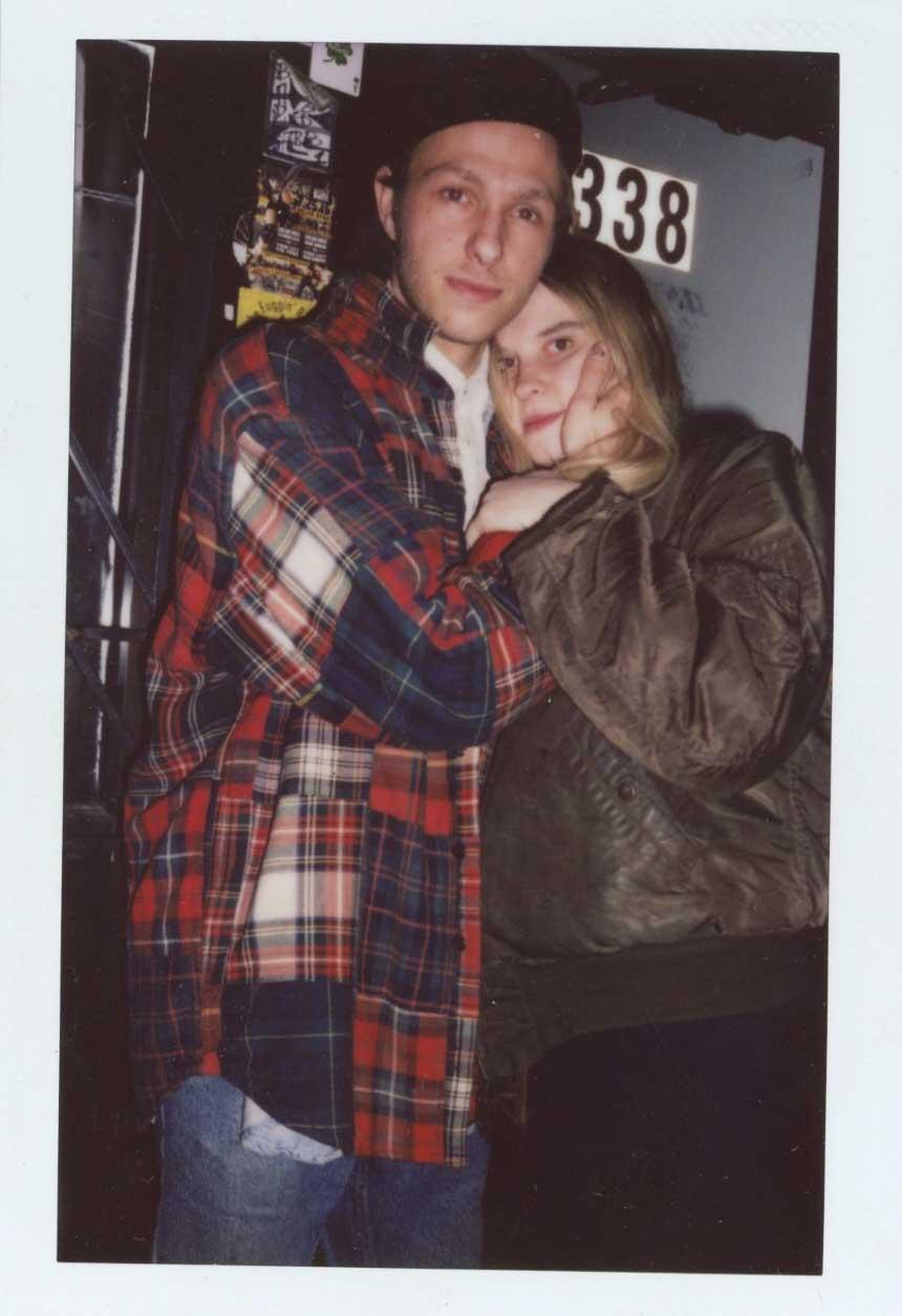 Trey with his partner Jessica Viscius