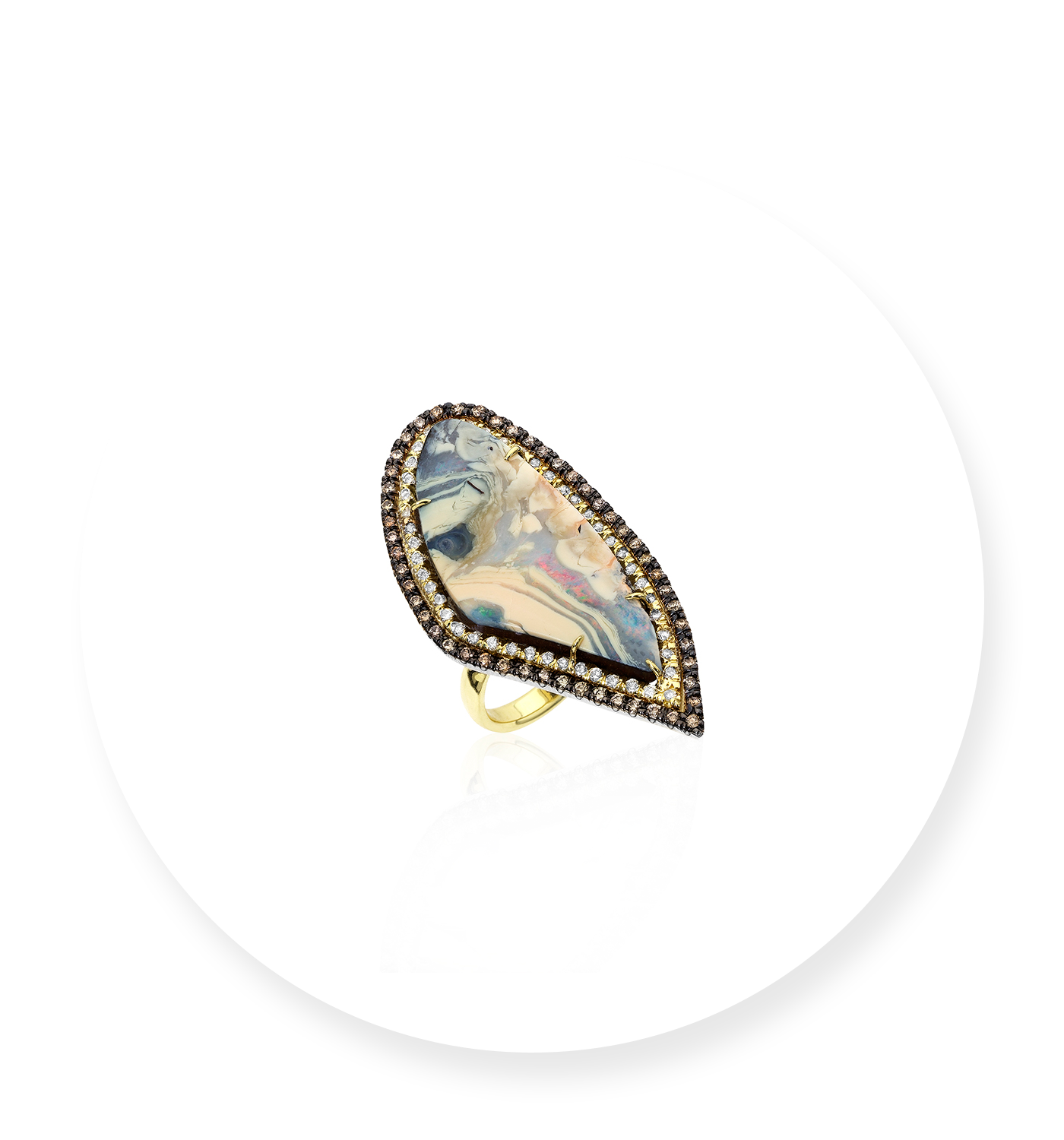 KIMBERLY MCDONALD - Boulder Opal Ring