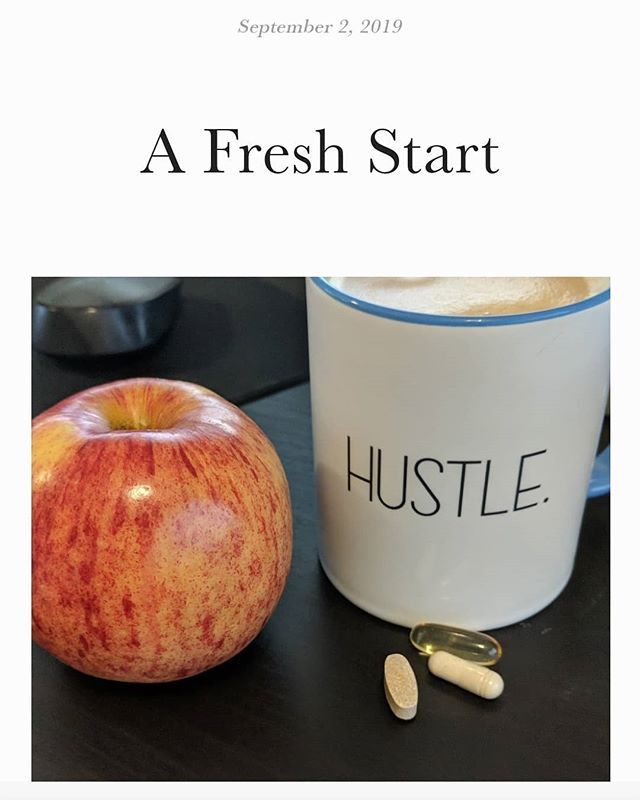 It's about time we got back to it. My hiatus is up, Anna's will follow shortly! 😘 #freshstart #hustle #imbackbitches