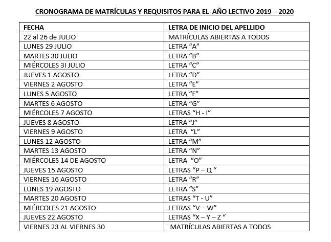 cronograma matriculas 2020.JPG