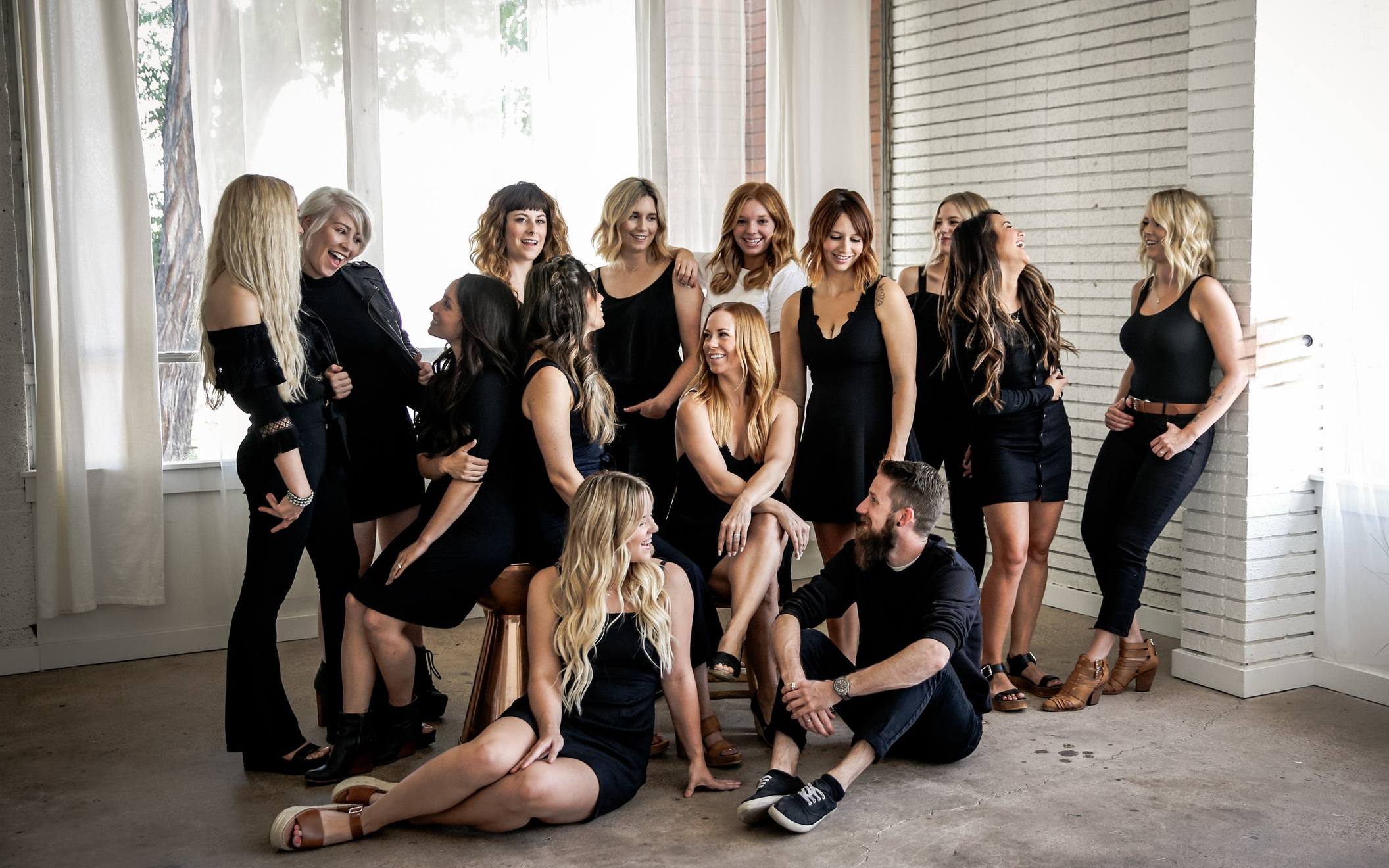CAREERS AT ELLE.B - Interested in joining our team? Learn more about our salon philosophy and current opportunities.