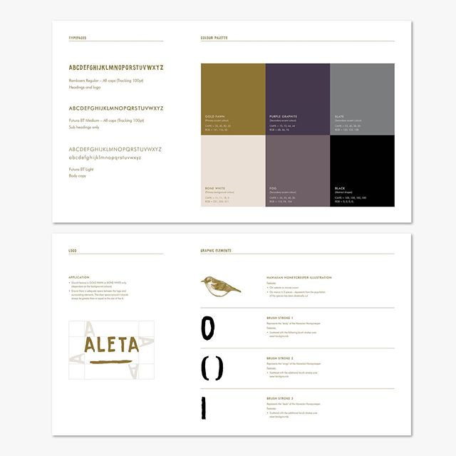 Building some guidelines for Aleta's brand identity. Love seeing how different agencies present brand guidelines and colour palettes 🎨  #inspired #identity #brandguidelines #branding #restaurant #smallbusiness #concept #personalproject #graphicdesign #illustration #art #colour #eco #zerowaste #savetheplanet #everylittlehelps #spreadtheword