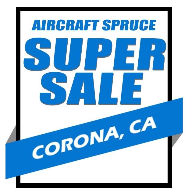 September 2019 - September 28, 2019Aircraft Spruce West Super Sale