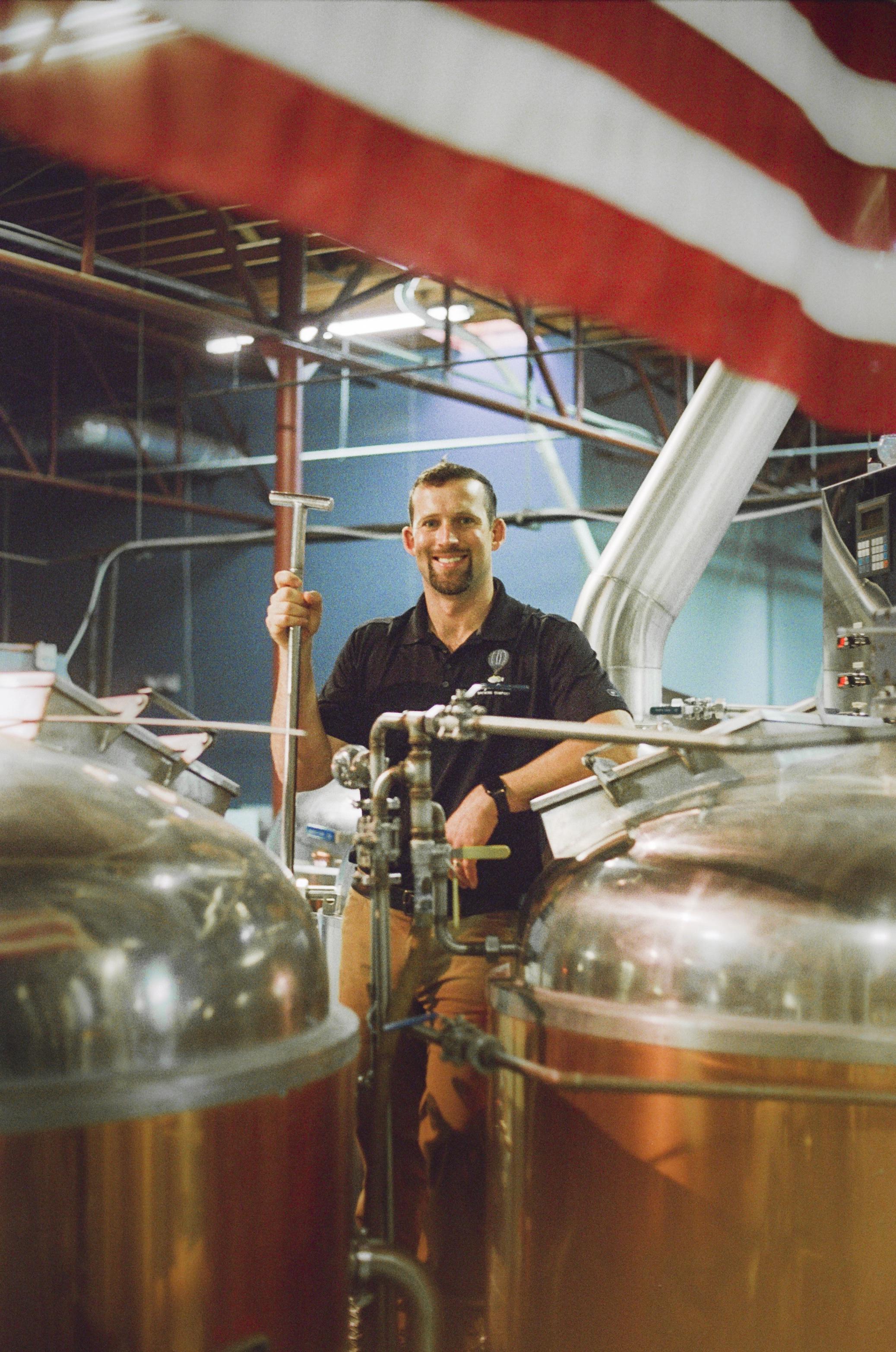 Joe Vogelbacher, Founder and CEO of Sugar Creek Brewing Co.