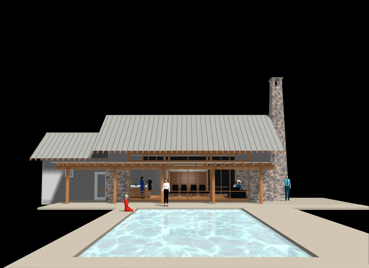 northwest modern pavilion -