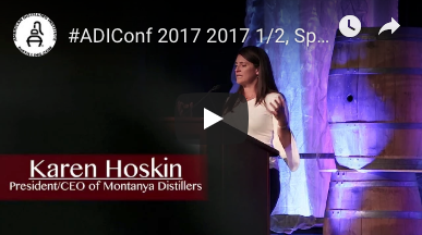 Keynote Speech at the 2017 Craft Spirits Conference