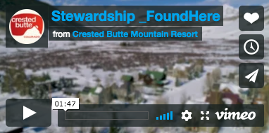 Crested Butte Mountain Resort feature on Sustainability