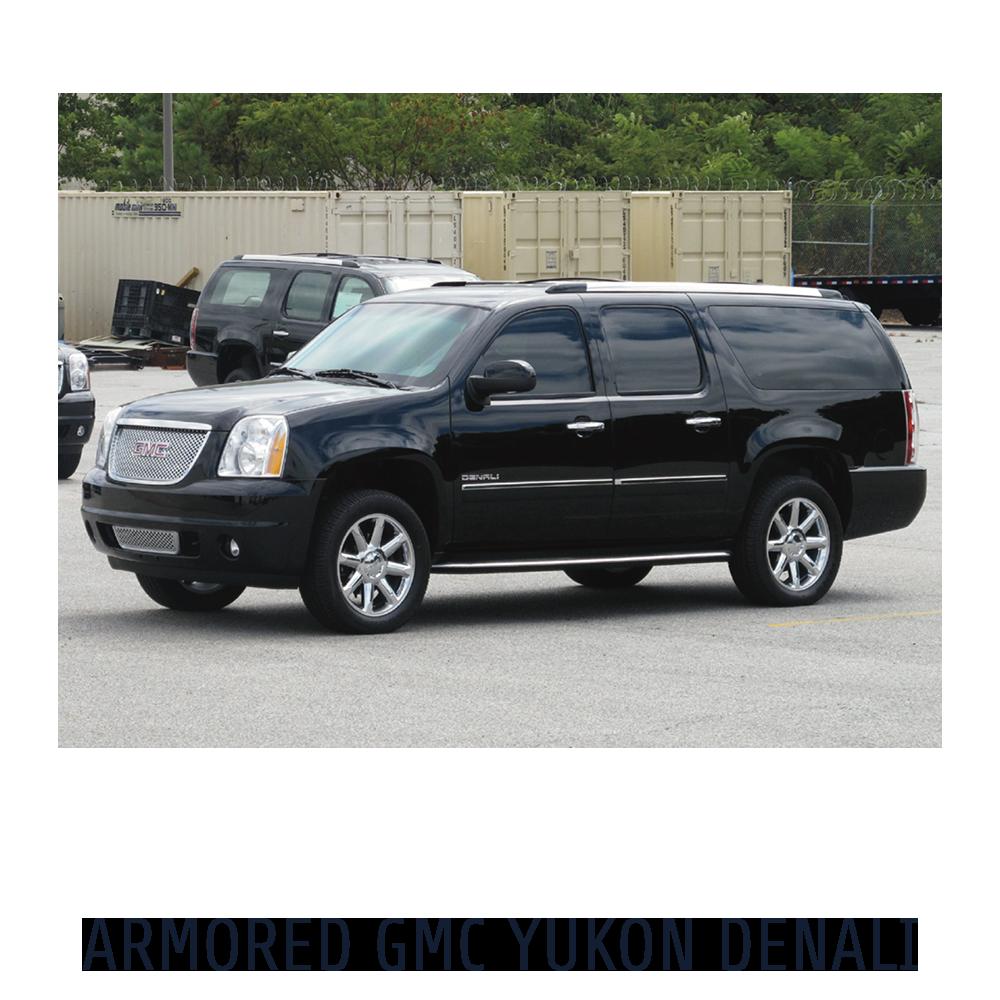 Armored GMC Yukon Denali
