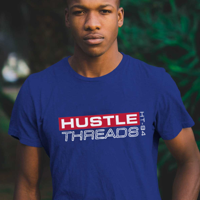 Hustle Threads   Logo | Brand Development | Apparel Design