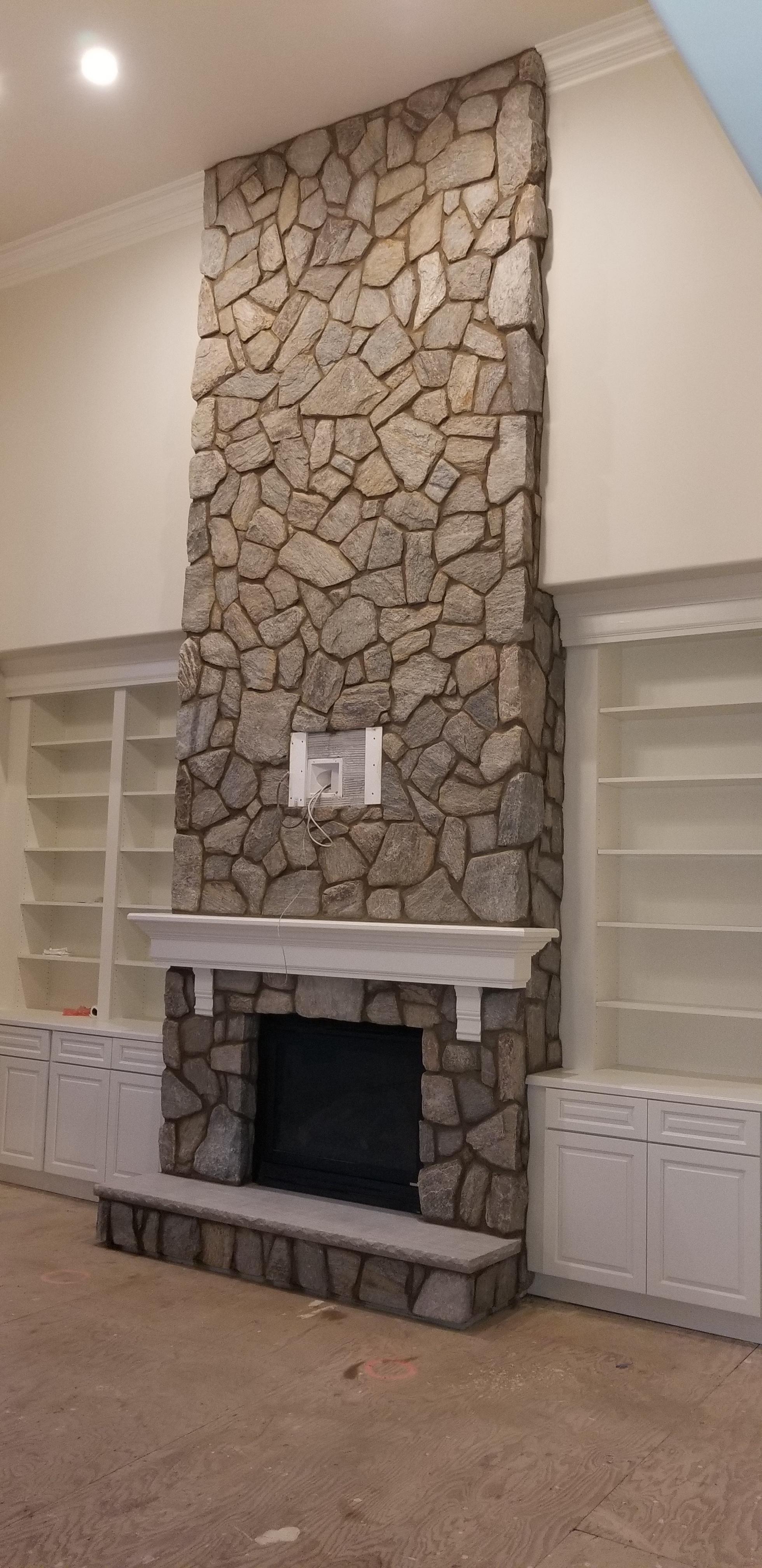 stone: Appalachian Ashlar. installer: bhr contracting
