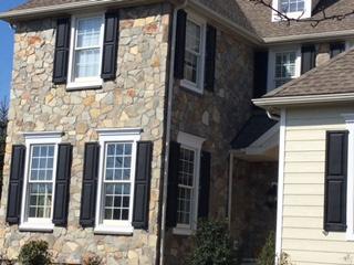 Stone: appalachian fieldstone. installer: stucco 911