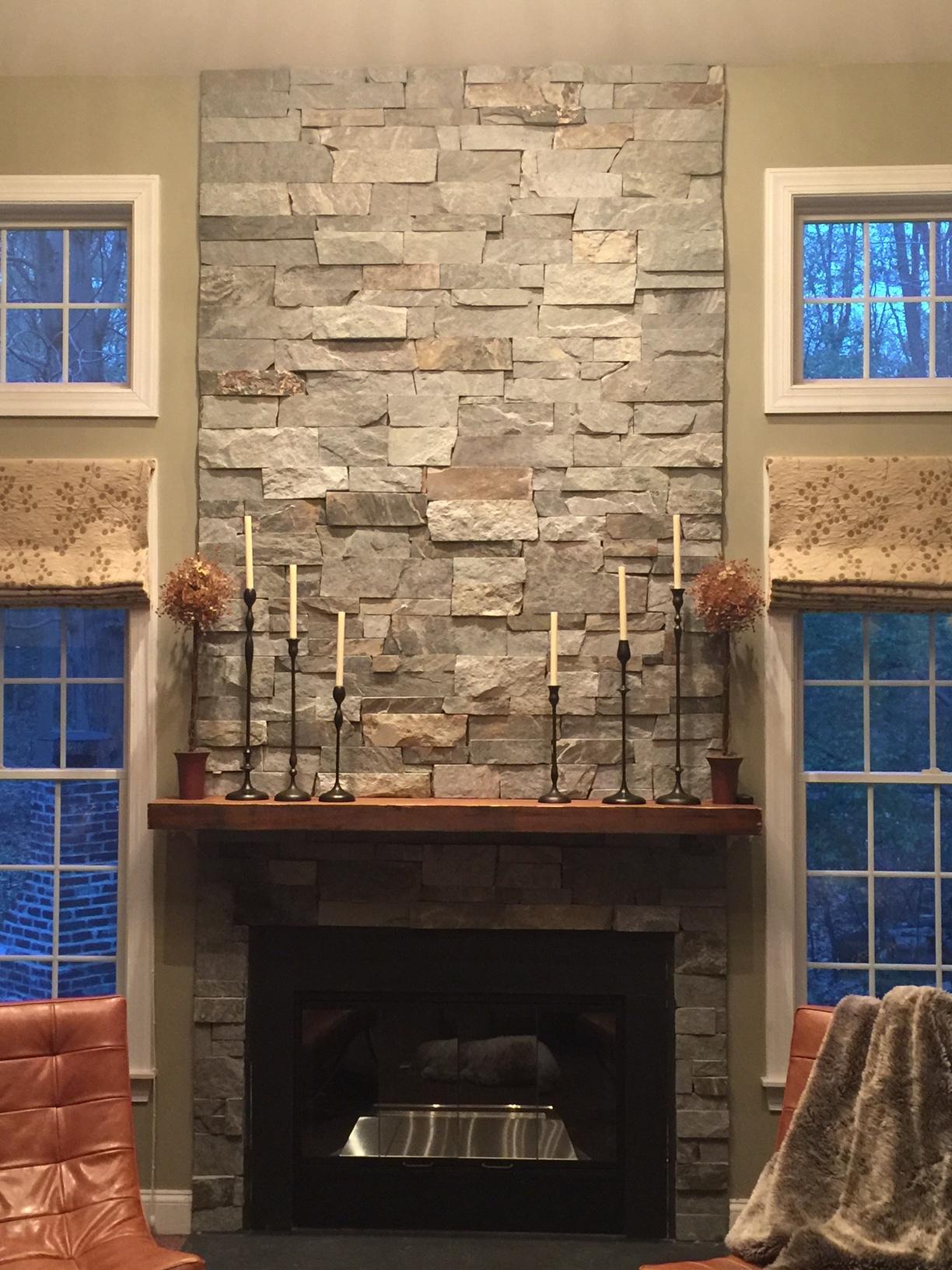 stone: old philadelphia custom mix.  installer: wayne epting stucco & stone