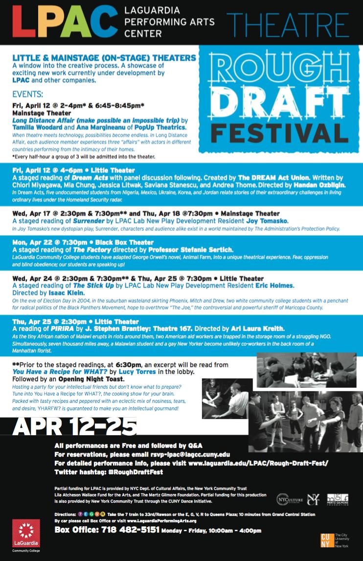 laguardiaperformingartscenter.roughdraftfestival2014.png