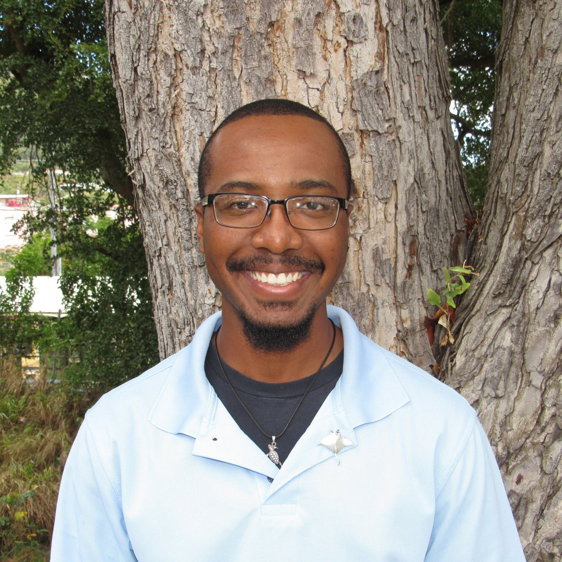 Jarvon Stout - Program FacilitatorOh hi, I almost didn't see you there. My name is Jarvon. I am a native Virgin Islander and one of the curriculum facilitators for the USVI Storm Strong Program. I have a background in marine biology and have been working as an outreach specialist for 4 years. When I am not engaging and educating underserved communities of the Virgin Islands, I'm spending my time hiking, kayaking, scuba diving, or scheduling multiple power naps for the upcoming week. Learn more about me…