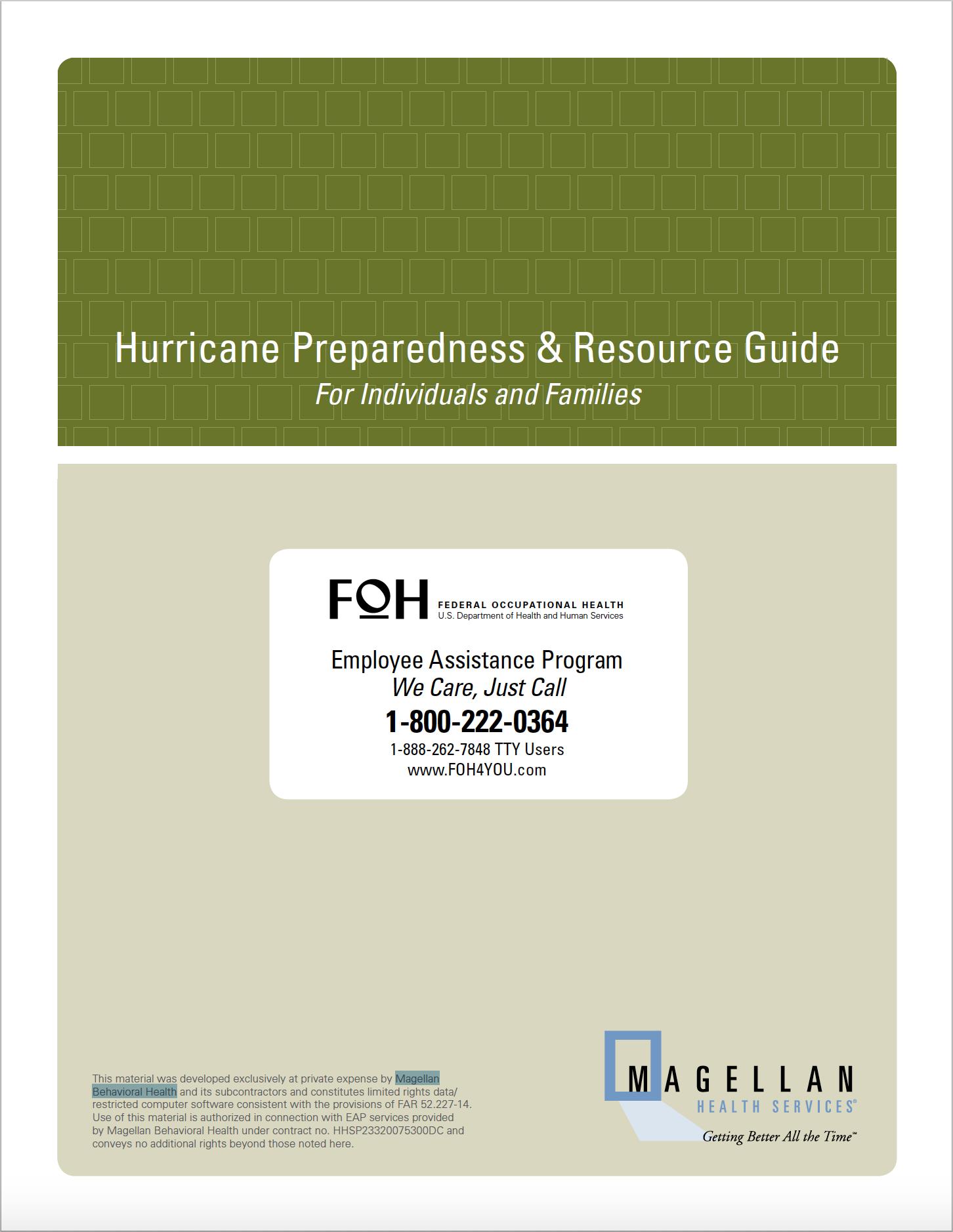 Hurricane Preparedness & Resource Guide from Magellan Behavioral Health