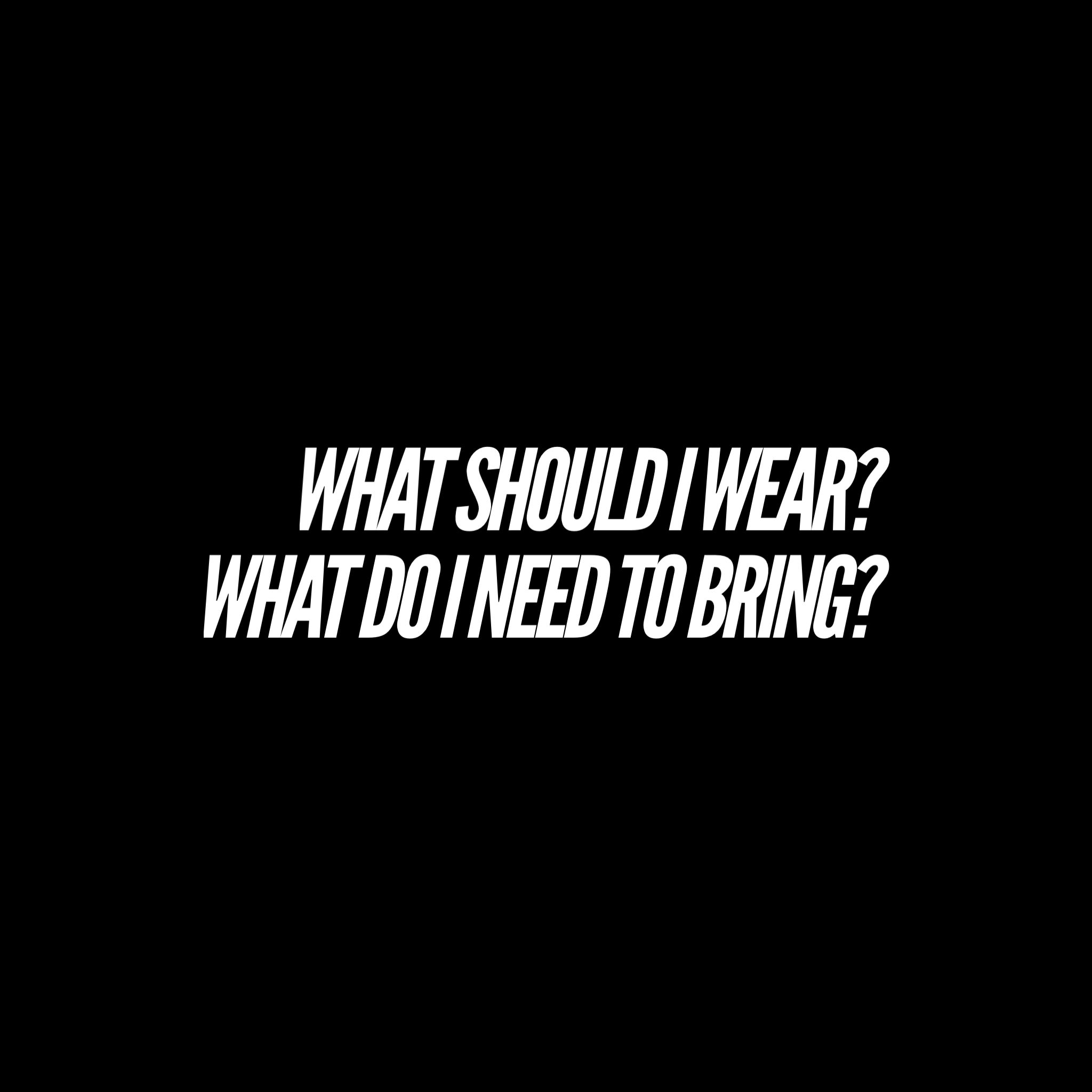 Wear what you'd wear to a yoga or workout class—a tank/tee and shorts/pants that are easy to move in. Breathable fabrics are preferable because once we get moving, you'll work up a bit of a sweat. If you'd like, you can wear socks or soft soled shoes (like ballet shoes), but please do not wear hard soled shoes. Most participants will do the DMT practice barefoot. You can bring a yoga mat, towel, or blanket to rest and stretch on. During the majority of the class, you will not need your mat, towel, or blanket, but it can be nice to have for the resting period at the end of the class. Bring a water bottle too! We will either have plain water or water infused with nettle tea if you want to fill up!