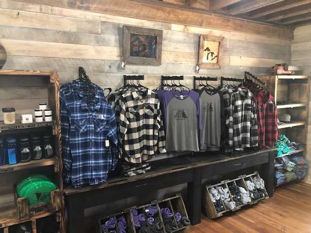 All of our True North Outpost gear is ready for you to take home today!
