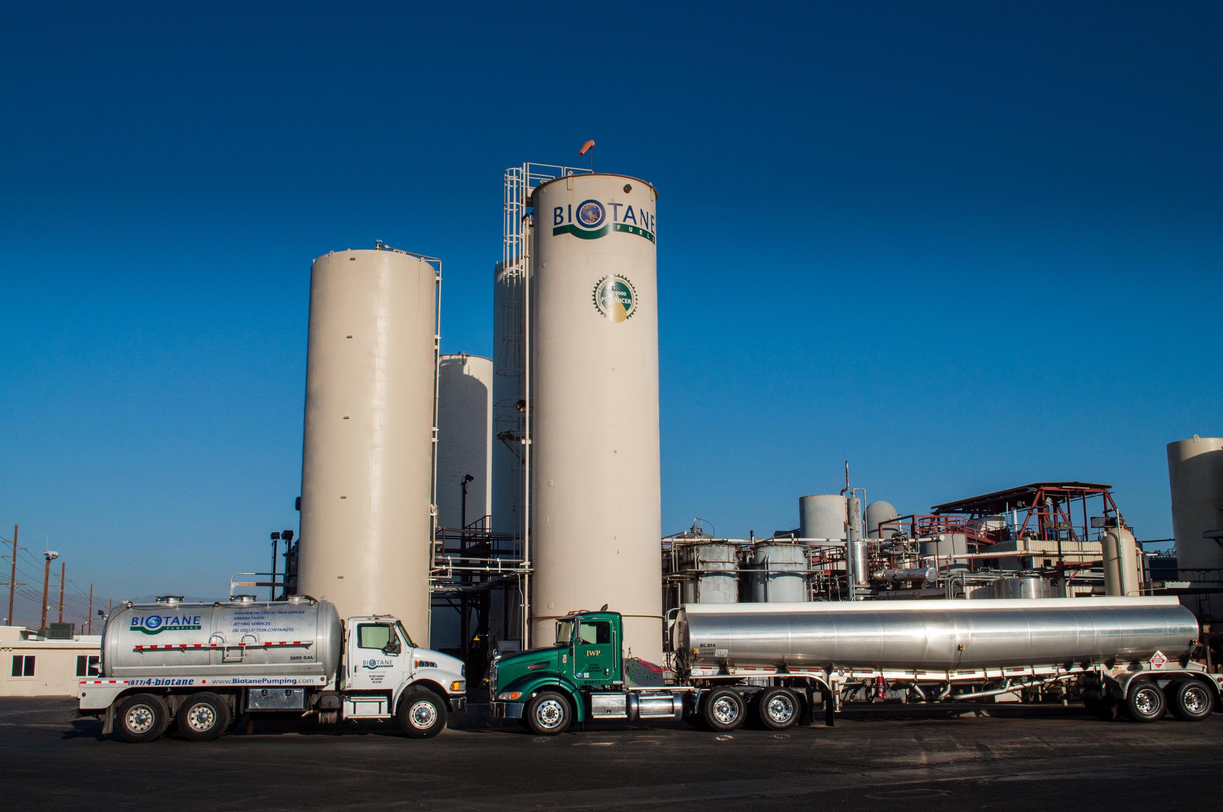 organic solutions palm springs waste Biotane Fuels