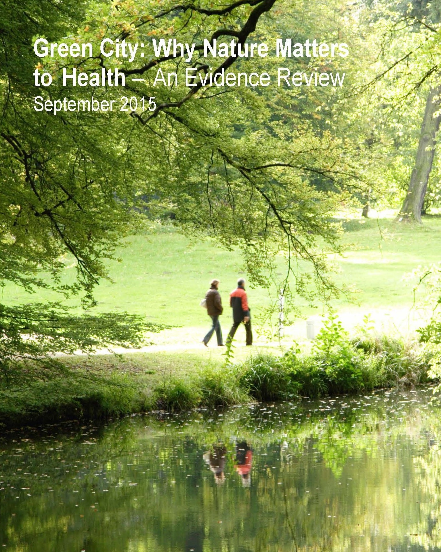 Green City: Why Nature Matters to Health - The value of green space in urban areas has been recognized throughout human history. Access to safe, well maintained, natural settings in an urban environment promotes health and wellbeing through many pathways. Some of these include, increases in the rate of physical activity, fostering social connections, and reducing stress. This report, published by Toronto Public Health, describes the impact of different exposures to urban green space on physical health, mental health and wellbeing, along with the green space types and characteristics that offer the most benefit to health.