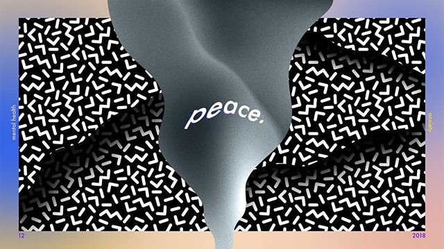 """Made these few slides for the Willamette Christian Church youth group series on """"Peace"""""""