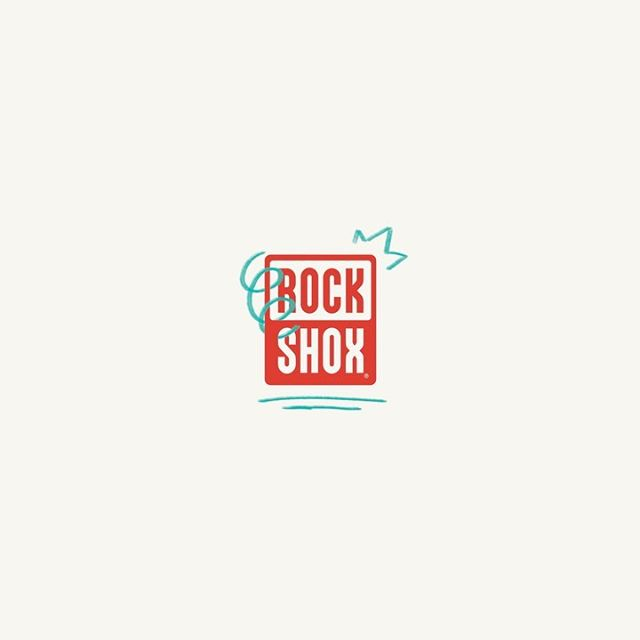I got to animate the @rockshox logo a few months ago with some photoshop frame by frame goodness for the cool people @cinco.design  Swipe for some alternate versions!