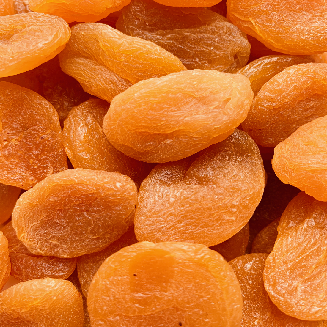 DRIED FRUIT - Apricots taste super sweet but are also a great source of vitamin A and pack a surprising amount of iron