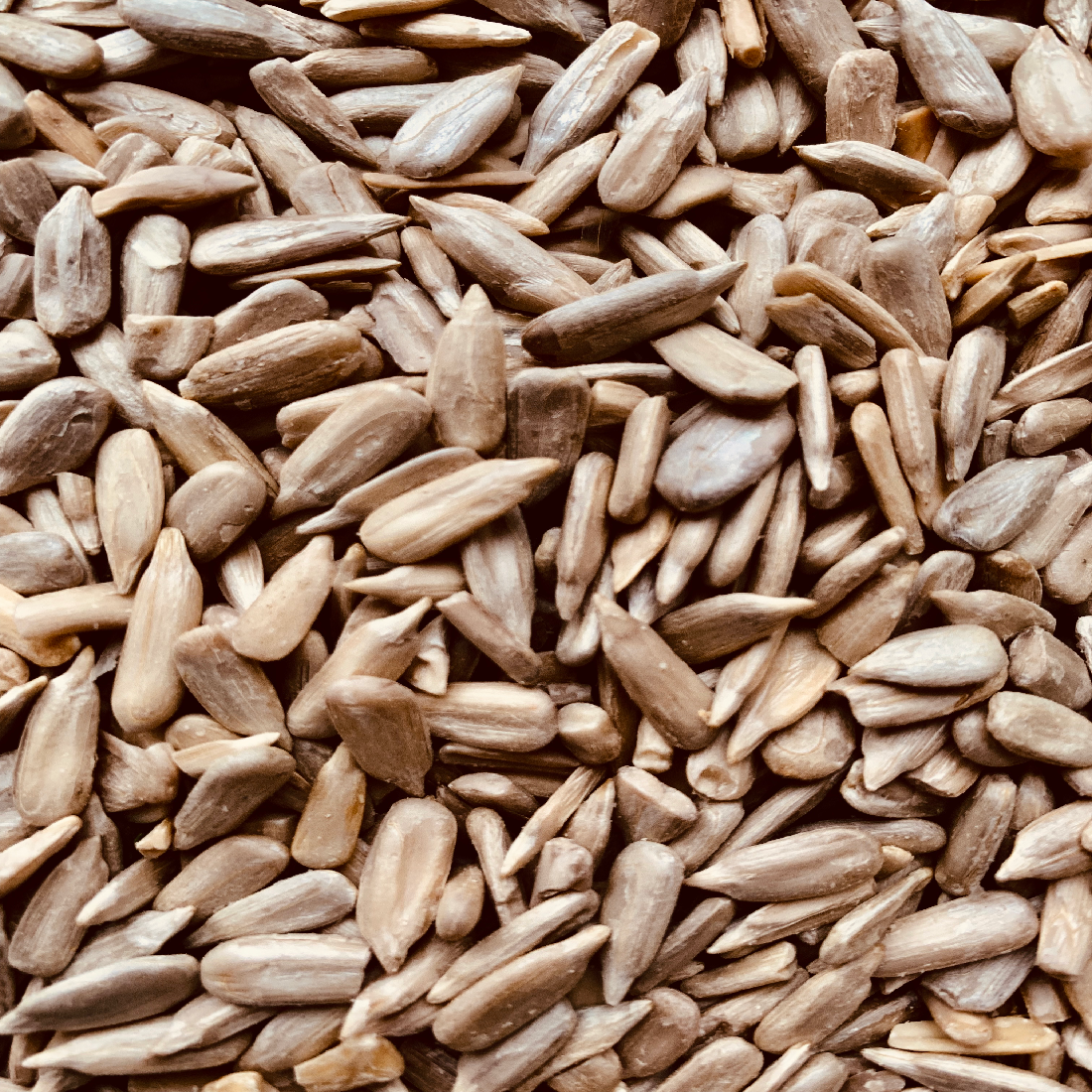 SEEDS - Sunflower seeds don't look like much, but they pack loads of goodness into their tiny bodies; protein, healthy omega 3 fats, zinc and iron