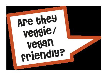 Are they veggie/vegan friendly?