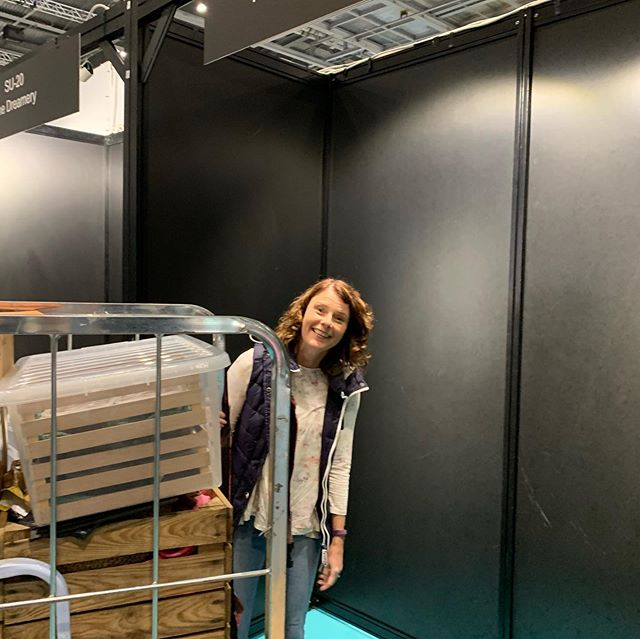 From a mere teeny blank shell.... to a bright, colourful space of joy! Hey You are at the Excel doing Lunch! food on the go exhibition tomorrow and Friday. Wish us luck 'cos we are mega excited!!! #thumbsup #happyyou