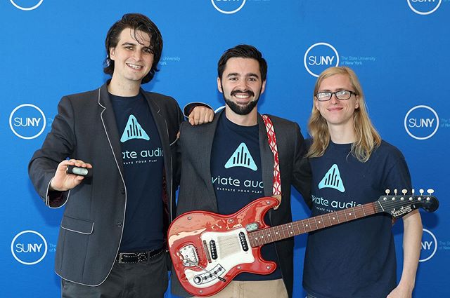 We had a great time showing off Airpatch at the most valuable pitch finals and took home the People's Choice award! #airpatch #aviateaudio #tafmvp #suny #universityatbuffalo