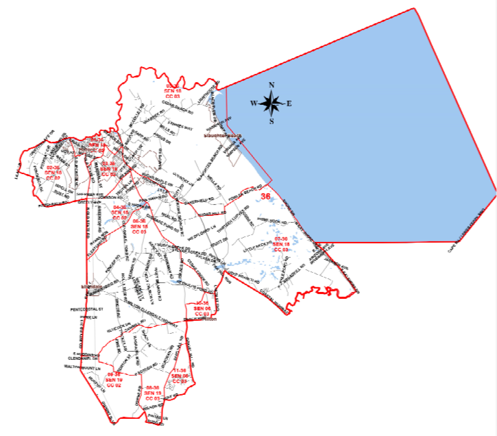 Representative District 36 - includes part or all of Milford, Lincoln, Milton, Broadkill Beach, & Slaughter Beach.Chairperson: Loretta BensonContact info:lbenson24@icloud.com302 264-6412