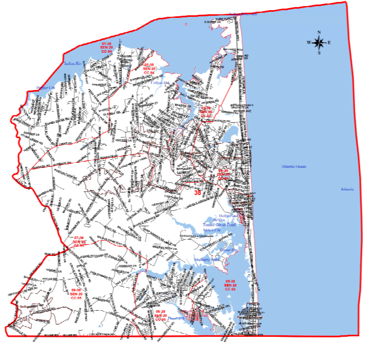 Representative District 38 - includes part or all of Bethany Beach, Ocean View, Millville, & Fenwick IslandChairperson: Muhammed AkhterContact Info:mohammad.akhter2@gmail.com302 604-7523