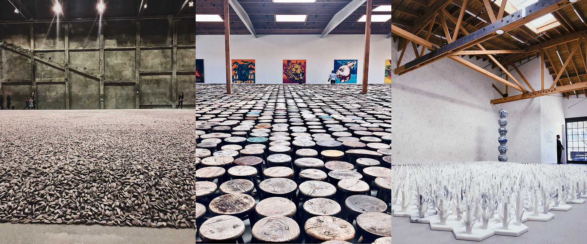 Life Cycle at  Marciano Art Foundation , Zodiac at  Jeffrey Deitch  and Cao / Humanity at  UTA Artist Space . Artwork © Ai WeiWei | See more on  Instagram
