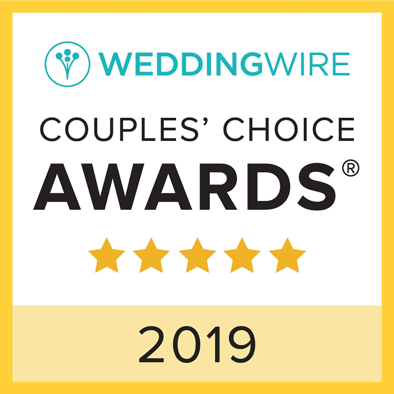 Wedding-Wire-2019-Couples-Choice-Award-Dexter-Lake-Club-Bandjpg
