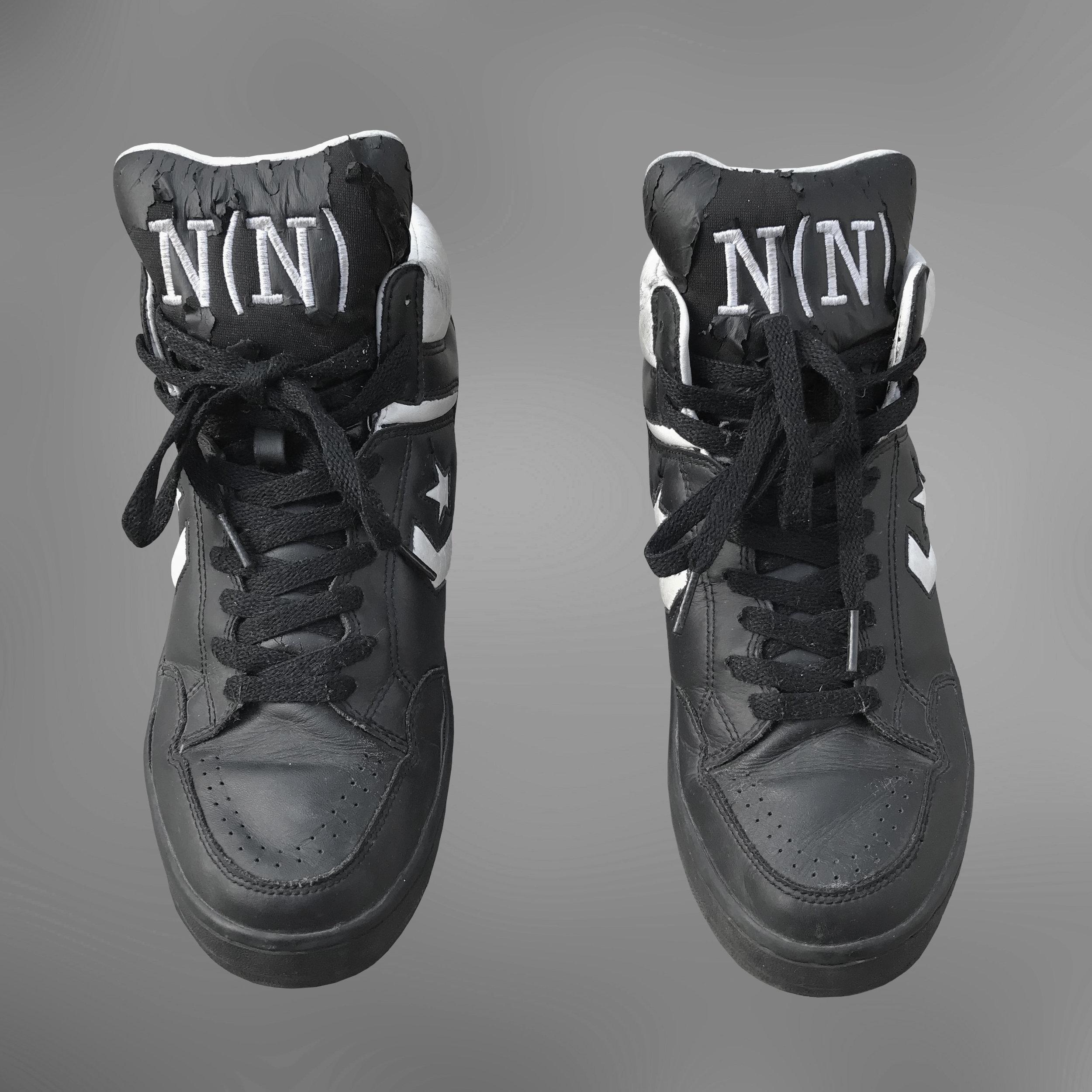 Number (N)ine Converse Weapons