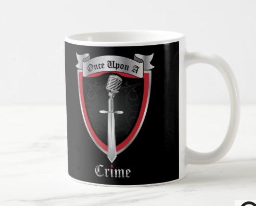 Once Upon a Crime Logo 15-oz mug