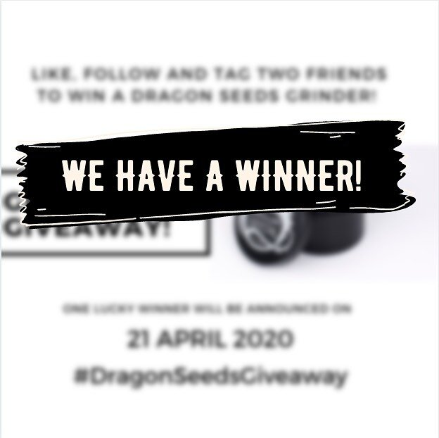 We have a winner for our #dragonseedsgiveaway! @loganbentleyw please contact us via DM for information on how to claim your prize. Thanks again to everyone for participating in this giveaway. We still have a seed giveaway until the end of the month so there's still more to win. More raffles coming soon, stay tuned! #dragonseeds #dragonseedsnl #dragonseedsgiveaway #cannabiscommunity #cannabisculture #420 #710 #cannabisseeds #instaweed
