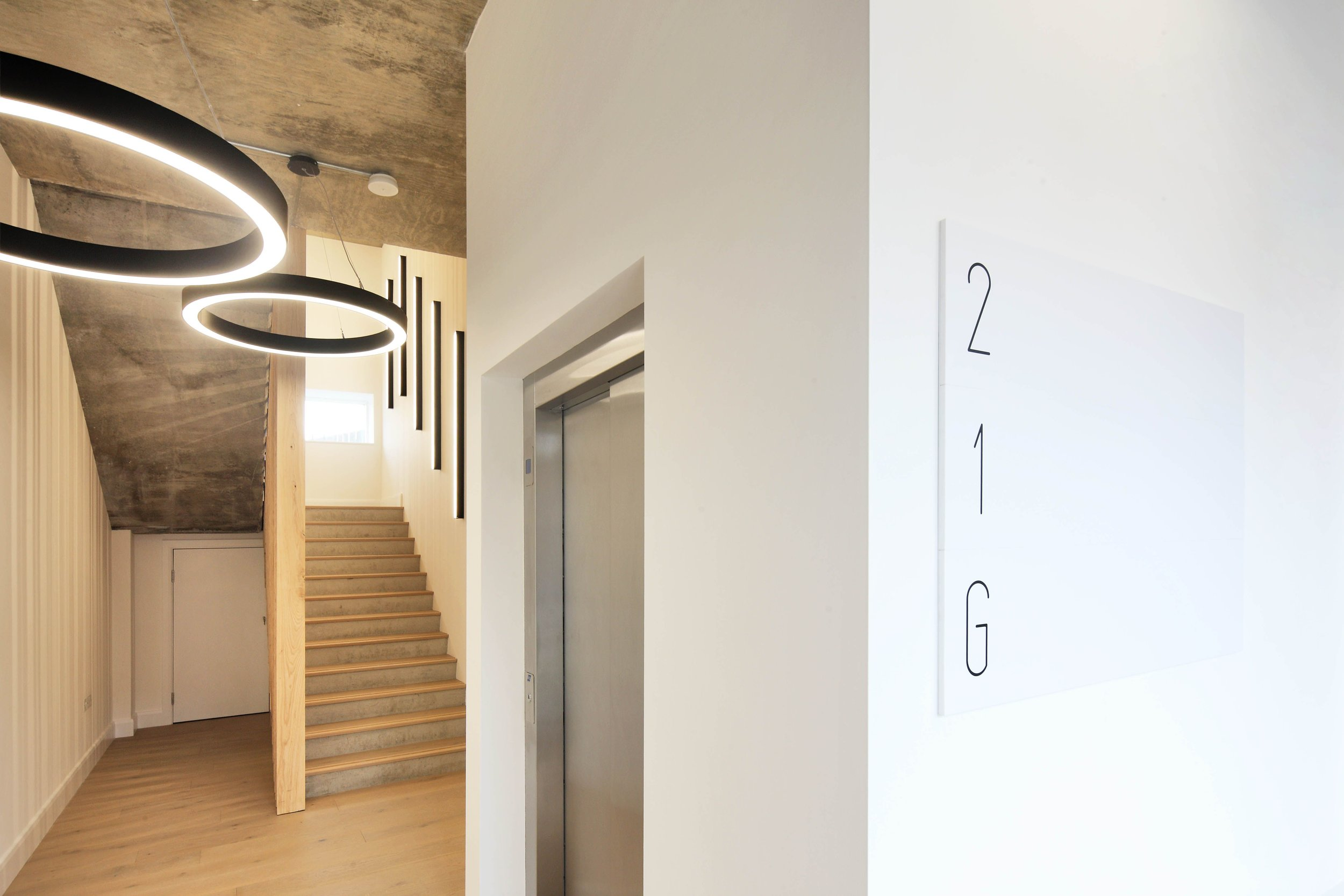 LIGHTING DESIGN FOR CAT A MIXED USE DEVELOPMENT - 10 BARD ROAD, LONDON