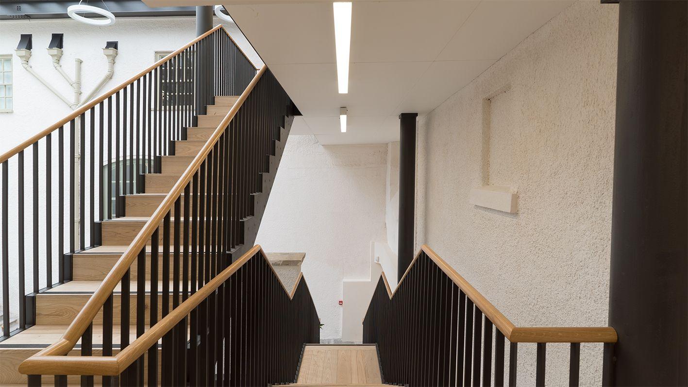 John Weasley Chapel Staircase