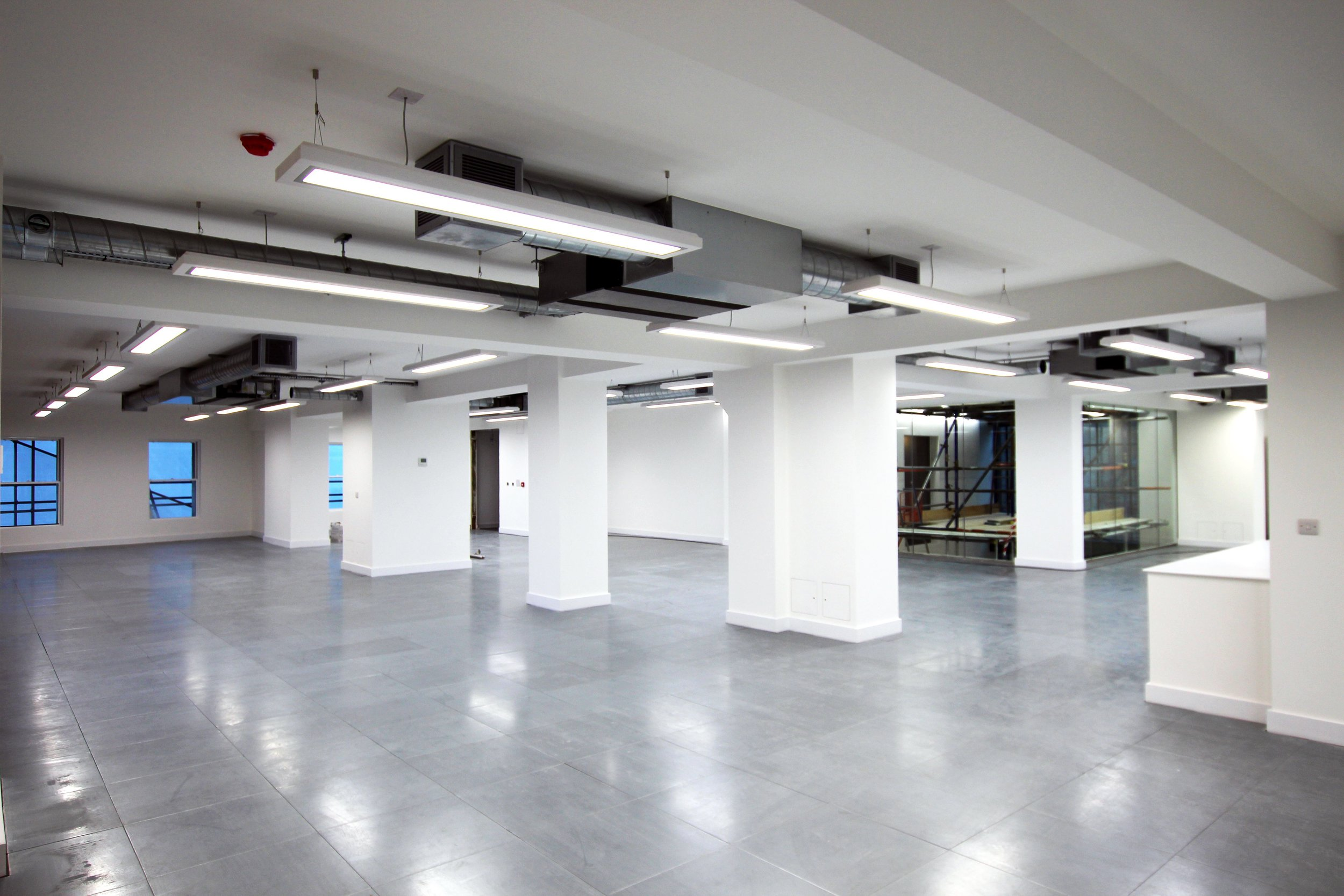 Are you working on a Cat A fitout? - Get in touch for a personal quotation for your office lighting.