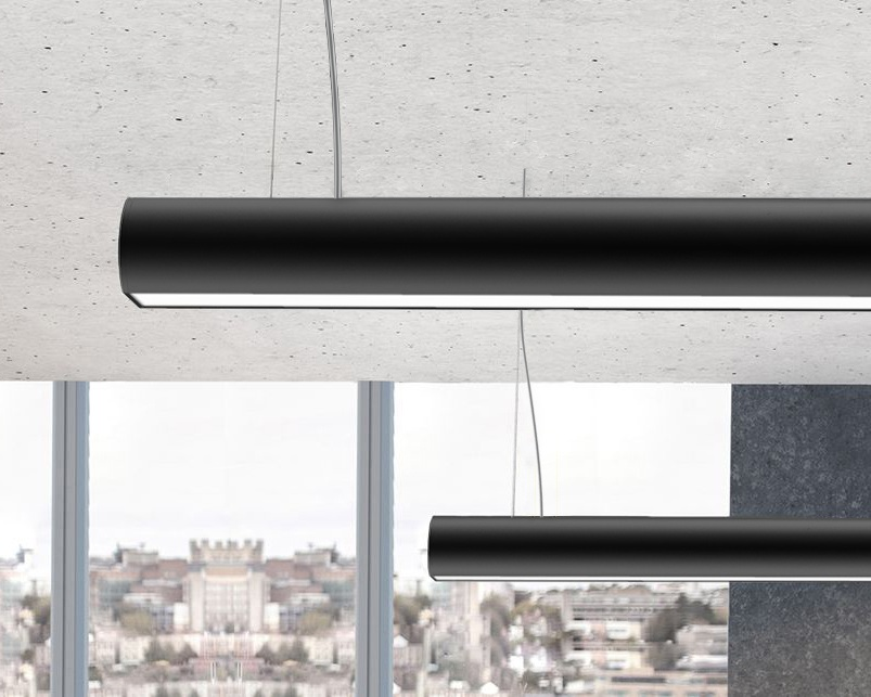 Versatile - A true all-rounder, it is equally at home in an office and as linear architectural lighting.When specified with a black diffuser, the ARNO can turn into a bold architectural feature.