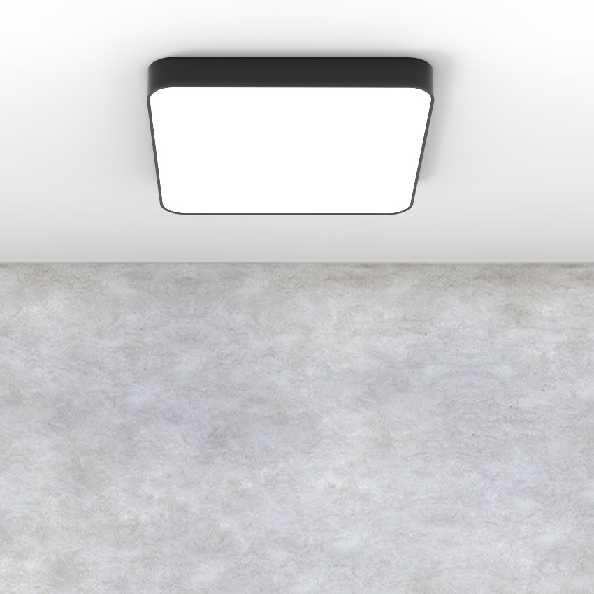 Soft edges - The beautifully soft contours of the Tarras offer a flexible lighting solution for a minimalistic interior space.