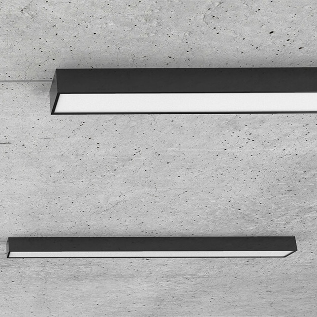 Standard size at 3 meters - The Oka Suspended is available in 4 different lengths from 1200 mm to 3000 mm.
