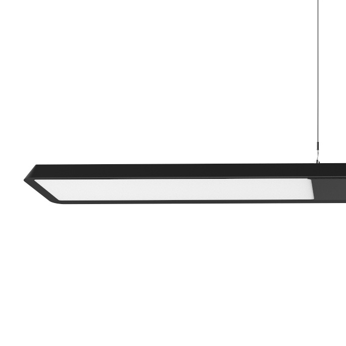 Contemporary - Its uniquely designed diffuser and the Edge lighting technology distributes light evenly throughout the interior, adding a stylish flair to any environment.