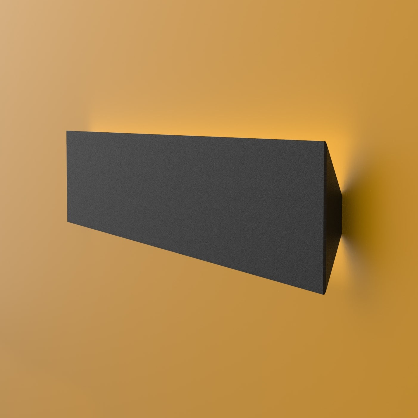 High visual comfort - When used as a Wall luminaire, the Erie offers an unusual, visually striking illumination. Used as a single unit or a sophisticated system, it is guaranteed to be noticed.