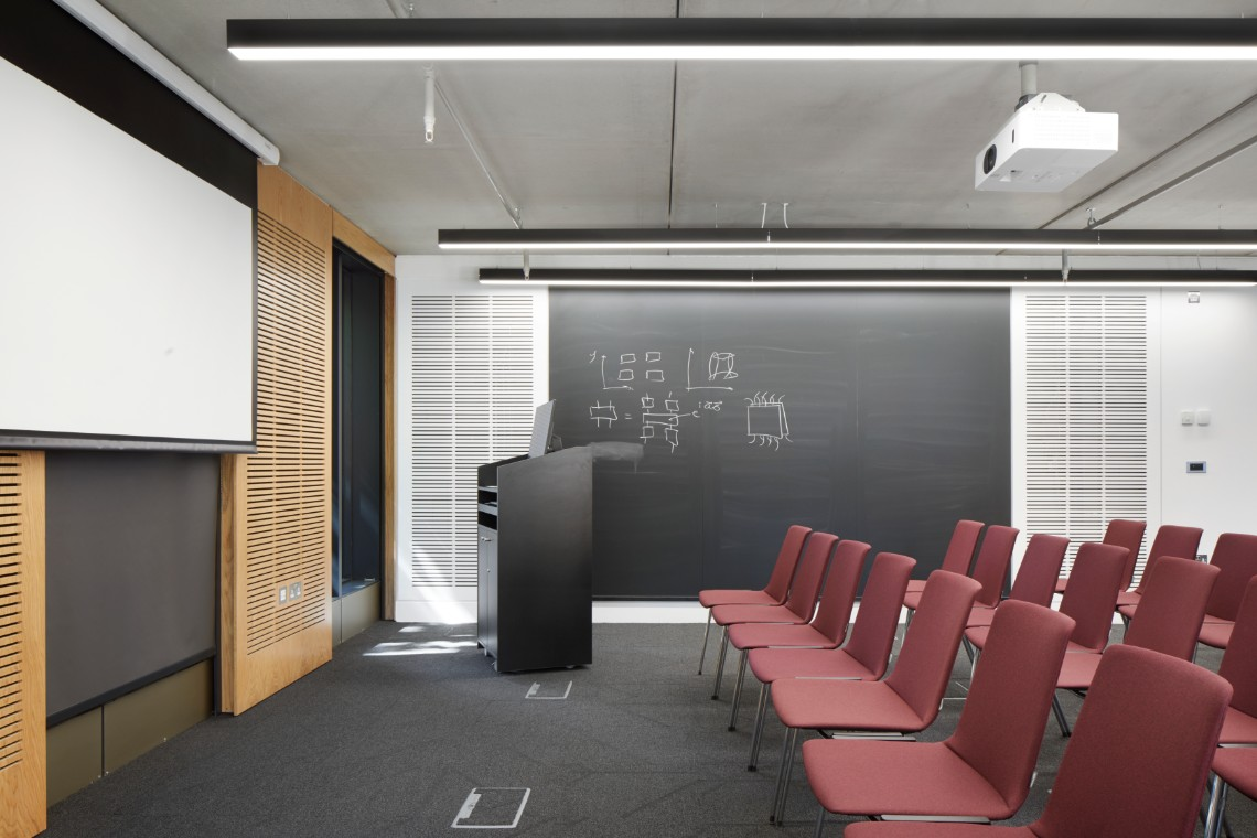 Linear suspended lighting. - Linear suspended lighting is a perfect choice for lighting workplace. Currently, on trend, the pendants are firmly putting their mark on the quality Cat A and Cat B specification. Find out more about linear suspended lighting here.