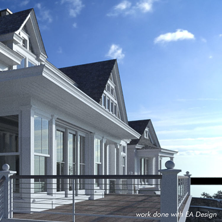 Residential architecture Midcoast Maine