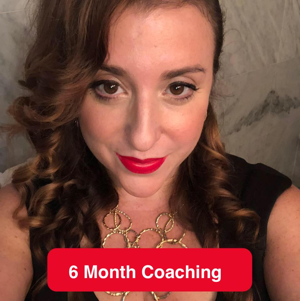 6 month one on one women's empowerment coaching