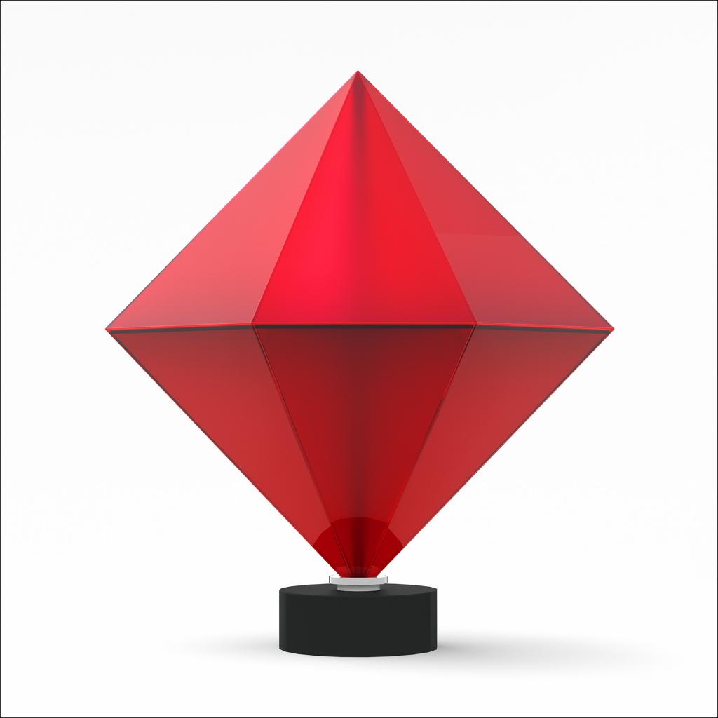 Copy of Red Cadmium Diamond