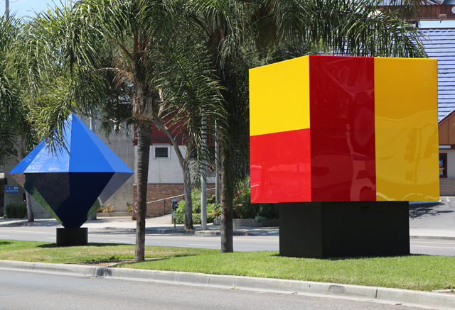 LOS ANGELES TIMES- 'Illumetric' brightens Santa Monica Blvd. in West Hollywood